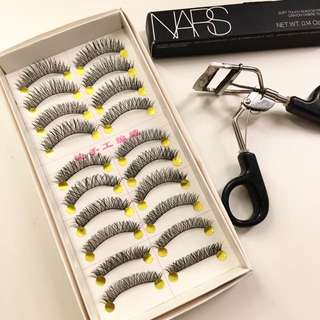 Handmade Wispies False Eyelashes/falsies One Box #D03