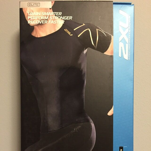 2XU Elite Compression Short Sleeve Top