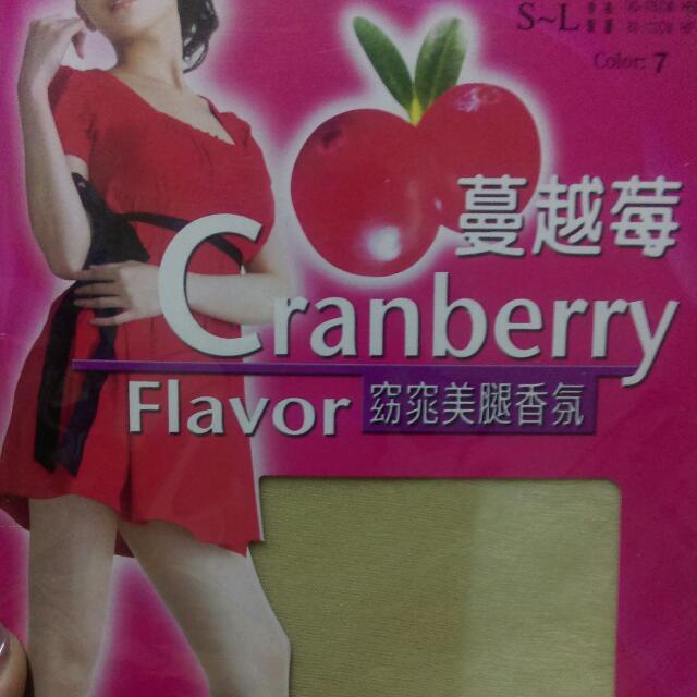 🍒蔓越莓透膚絲襪