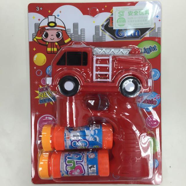 消防車電動泡泡搶(2支250)
