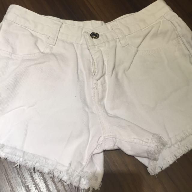全新❤️白色短褲