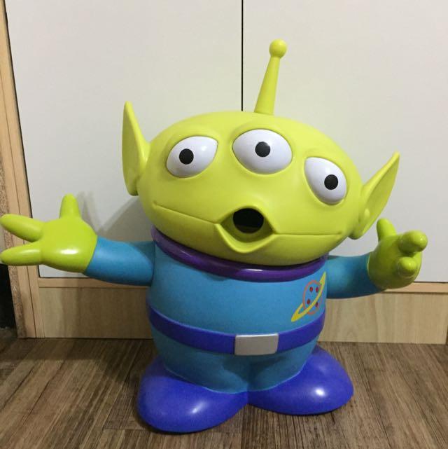 玩具總動員 Toy Story 三眼怪 存錢筒