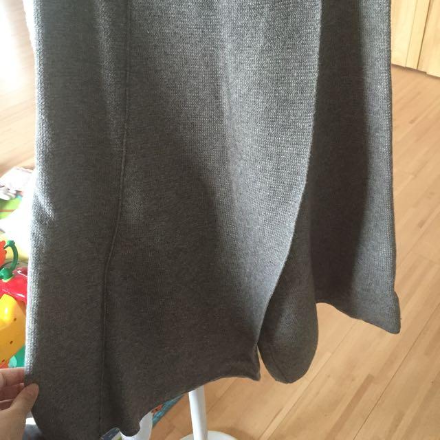 轉 韓 candy made 灰色針織褲裙