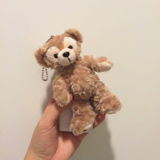 (保留中)》迪士尼 Duffy達菲熊 站姿吊飾