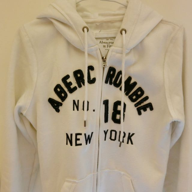 Abercrombie&fitch 白色外套