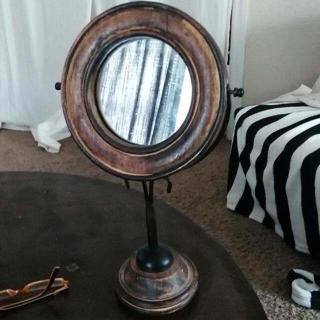 Antique Make Up Mirror