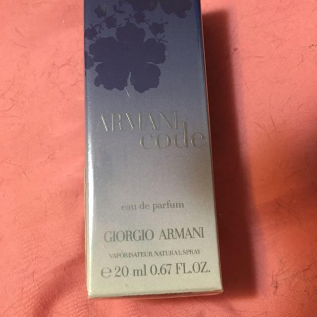 Armani Code女性香水20ml