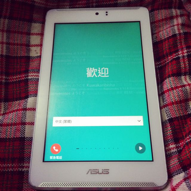 ASUS Fonepad 7 LTE  ME372CL  平板 白色