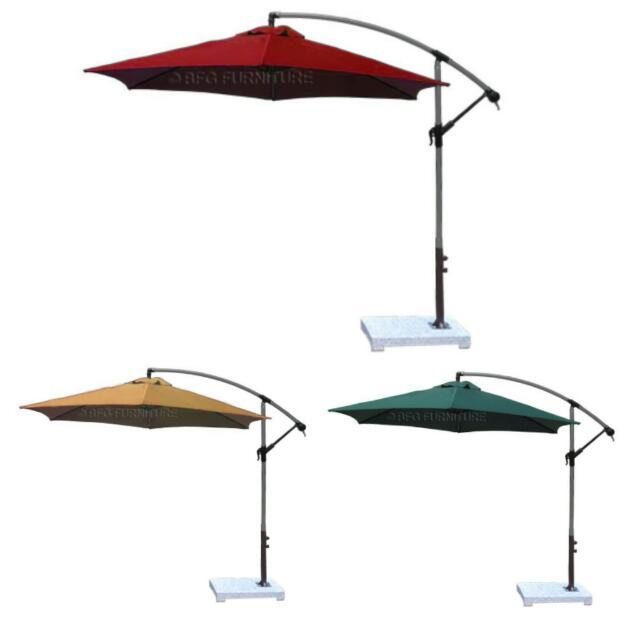 BFG FURNITURE Umbrella Brolly Parasol Outdoor Balcony Sun