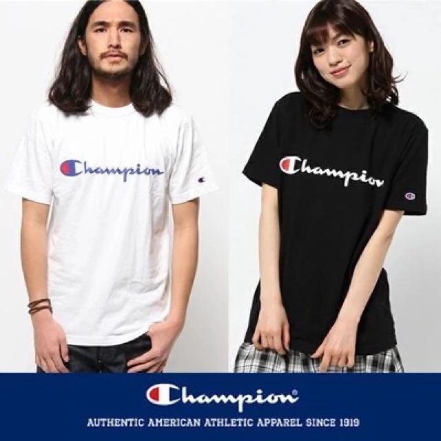 付購買證明champion胸口logo短袖 短t