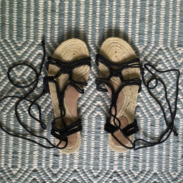 Country Road Rope Sandals