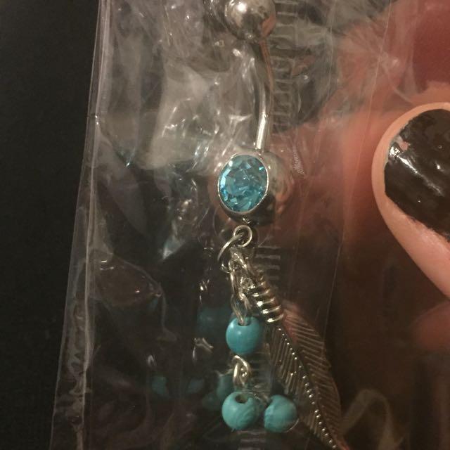 Dangly Belly Bar/ Piercing Jewellery