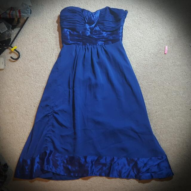 NEW Forever New Dress with Detachable Straps (Size 6)