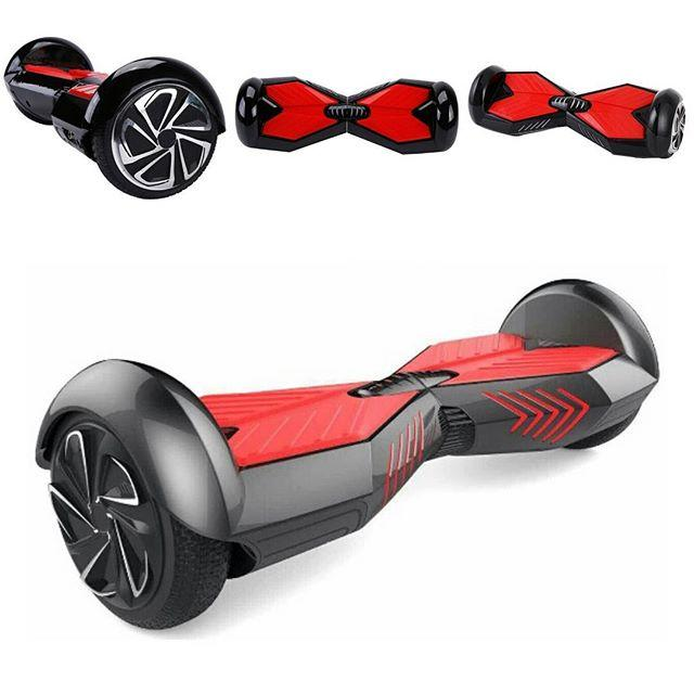 Hoverboard Swing Car Electric Unicycle Scooter- Black/Red