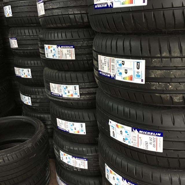 Michelin Ps4 Tyres. New From Germany