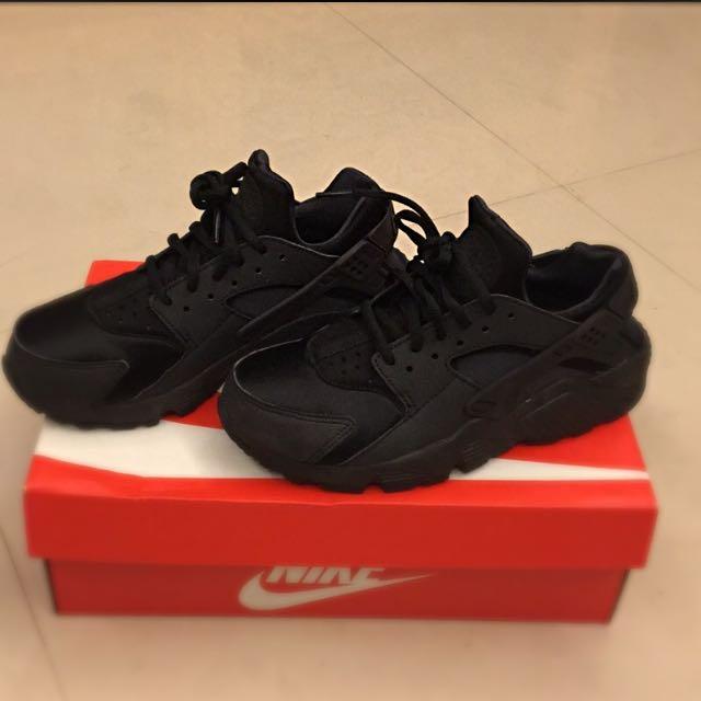 降價!!!Nike Huaraches Run黑武士