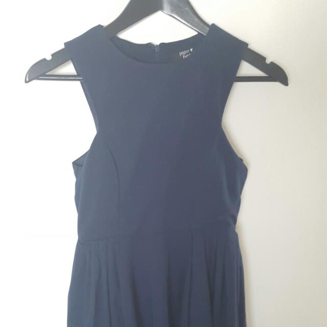 PAPERHEART Navy Blue Dress