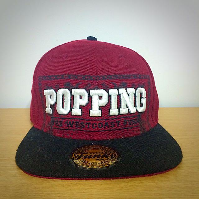 POPPING 變形蟲 SnapBack 棒球帽
