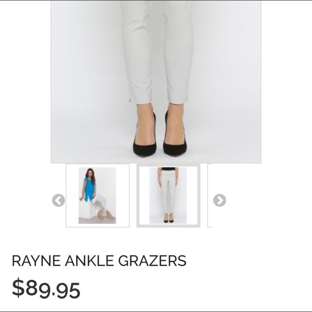 Postie Rayne Ankle Grazers (in Ice)