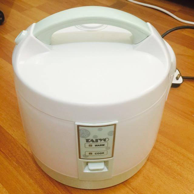 Pre-loved Taiyo Rice Cooker 1.2L