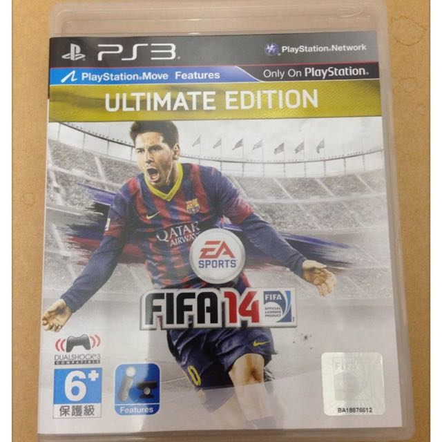 Amazon. Com: sony fifa 14 ultimate edition ps3: video games.