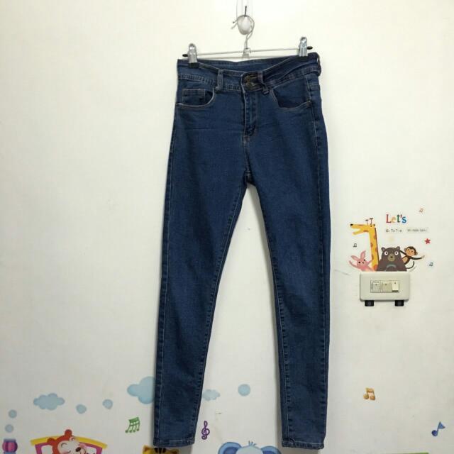 韓版顯瘦牛仔褲S號
