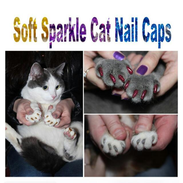 Sparkles Nail Caps /Cats Paw Controls