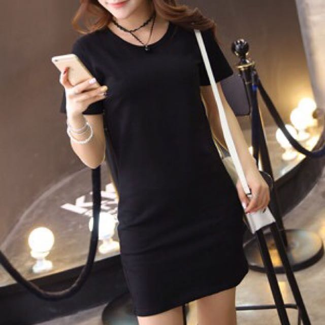 Stretchable T Shirt Dress