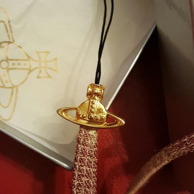 Vivienne Westwood 掛頸 長帶 電話繩