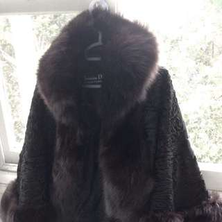 NEED GONE ASAP Christian Dior Fur Coat/Shawl
