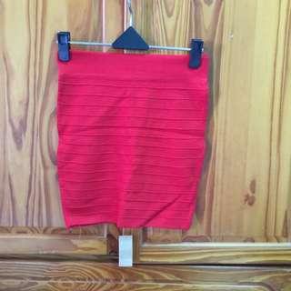 紅色短裙(F)