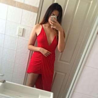 Loving Things Asymmetrical Dress