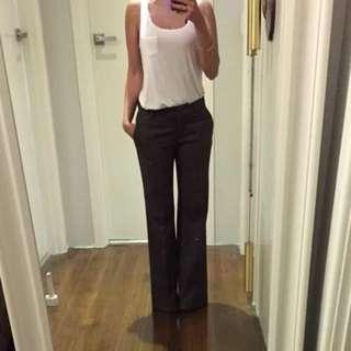 Country Road Wool Blend Wide Leg Suit Pants