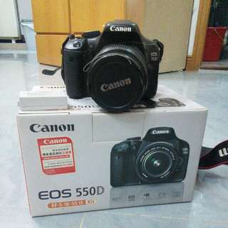 Canon 550D KIT 新淨齊全功能完好