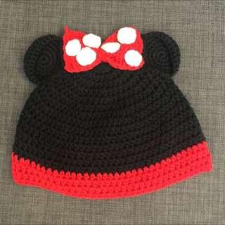 米妮針織帽(童帽)