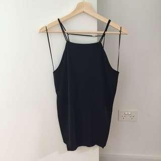 Zara Black Top Size: Small