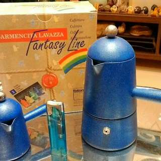 CatherineGB 咖啡杯、STELLA糖罐、 LAVAZZA  Fantasy Line 3cups 摩卡壺&奶盅 GB  MIA  2cups  摩卡壺 Garmencita LAVAZZA Linea ORO 1CUP 摩卡壺&奶盅(藍)