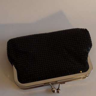 Black Shimmery Clutch