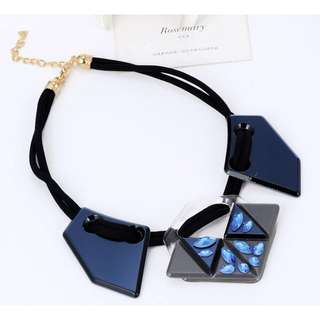 (NEW)Kalung Marni Blue Diamond