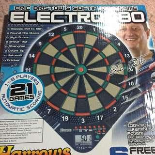 Harrows Pre-own Darts Board , With 2sets Of House Darts