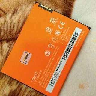 🌟 出售  紅米 Note  原廠鋰電池  $399😘 比副廠更優惠  僅此一顆欲購從速