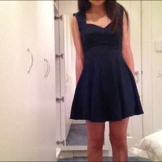Navy Princess Polly Dress