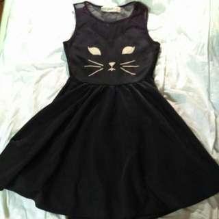 Reverse Cat Dress