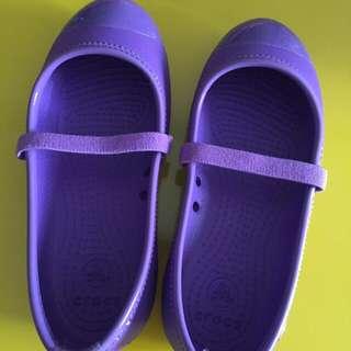 Purple Crocs Shoes For Girls