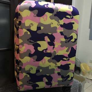 旅行箱保護套 迷彩 加厚耐磨 含運