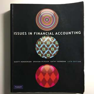 Issues In Financial Accounting 14th Edition