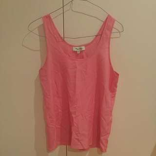 Miss Shop Pink Tank Size 8