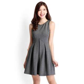 Brand New With Tag Lilypirates Flip Things Around Dress In Heather Grey