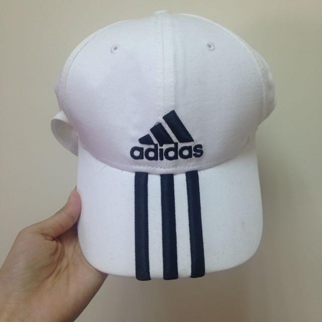 Adidas 帽子 白色