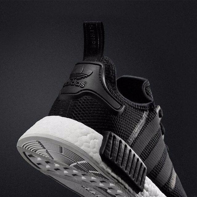 Adidas Originals NMD_R1 Mesh 'Double Black' [INSTOCK]